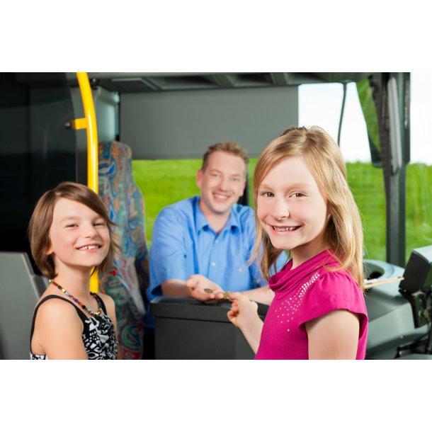 Tilmelding til Flextrafik-ordning for skolebørn